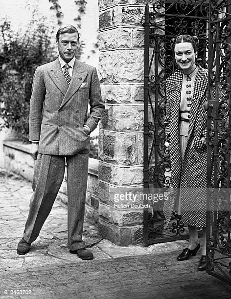 Duke Duchess Of Windsor At Their Temporary Home Ashdown Forest Sussex