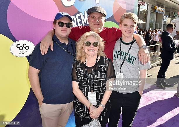 Duke Garlin actor/comedian Jeff Garlin Marla Garlin and James Garlin attend the Los Angeles premiere of DisneyPixar's Inside Out at the El Capitan...