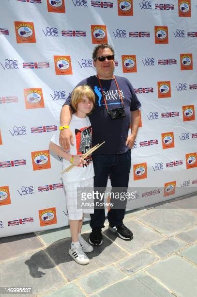 Duke Garlin and Jeff Garlin attend the 6th Annual Kidstock Music and Arts Festival at Greystone Mansion on June 3 2012 in Beverly Hills California