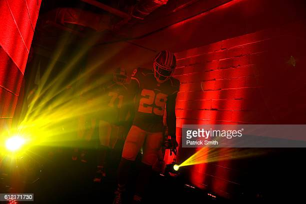 Duke Ihenacho of the Washington Redskins walks from the locker room before playing the Cleveland Browns at FedExField on October 2 2016 in Landover...
