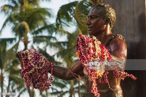 duke kahanamoku statue - duke bildbanksfoton och bilder