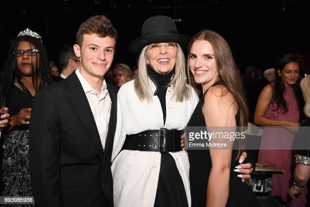 Duke Keaton Honoree Diane Keaton and Dexter Keaton attend the after party for American Film Institute's 45th Life Achievement Award Gala Tribute to...