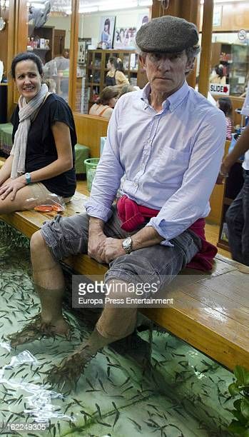 Duke of Alba Alfonso Diez is seen at Grand Palace on January 28 2013 in Bangkok Thailand