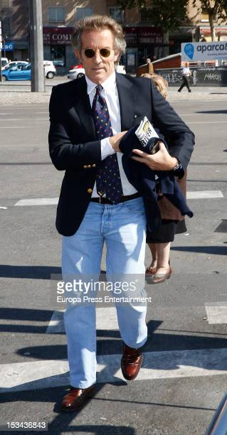 Duke of Alba Alfonso Diez is seen on October 1 2012 in Madrid Spain