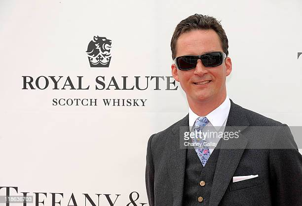 Duke of Argyll arrives to support the Foundation Team sponsored by Royal Salute at The Foundation Polo Challenge at the Santa Barbara Polo Racquet...
