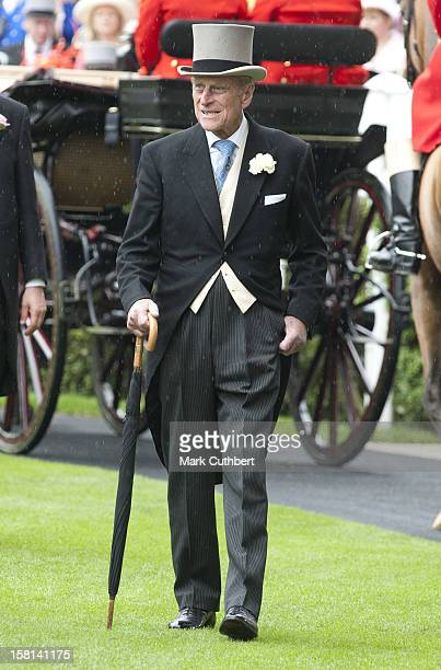 Duke Of Edinburgh On The Third Day Of Royal Ascot.