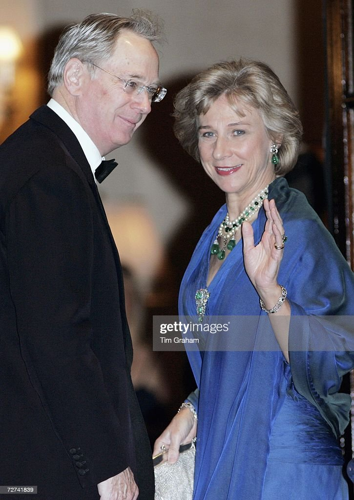 Duke & Duchess of Gloucester at Ritz Party : News Photo