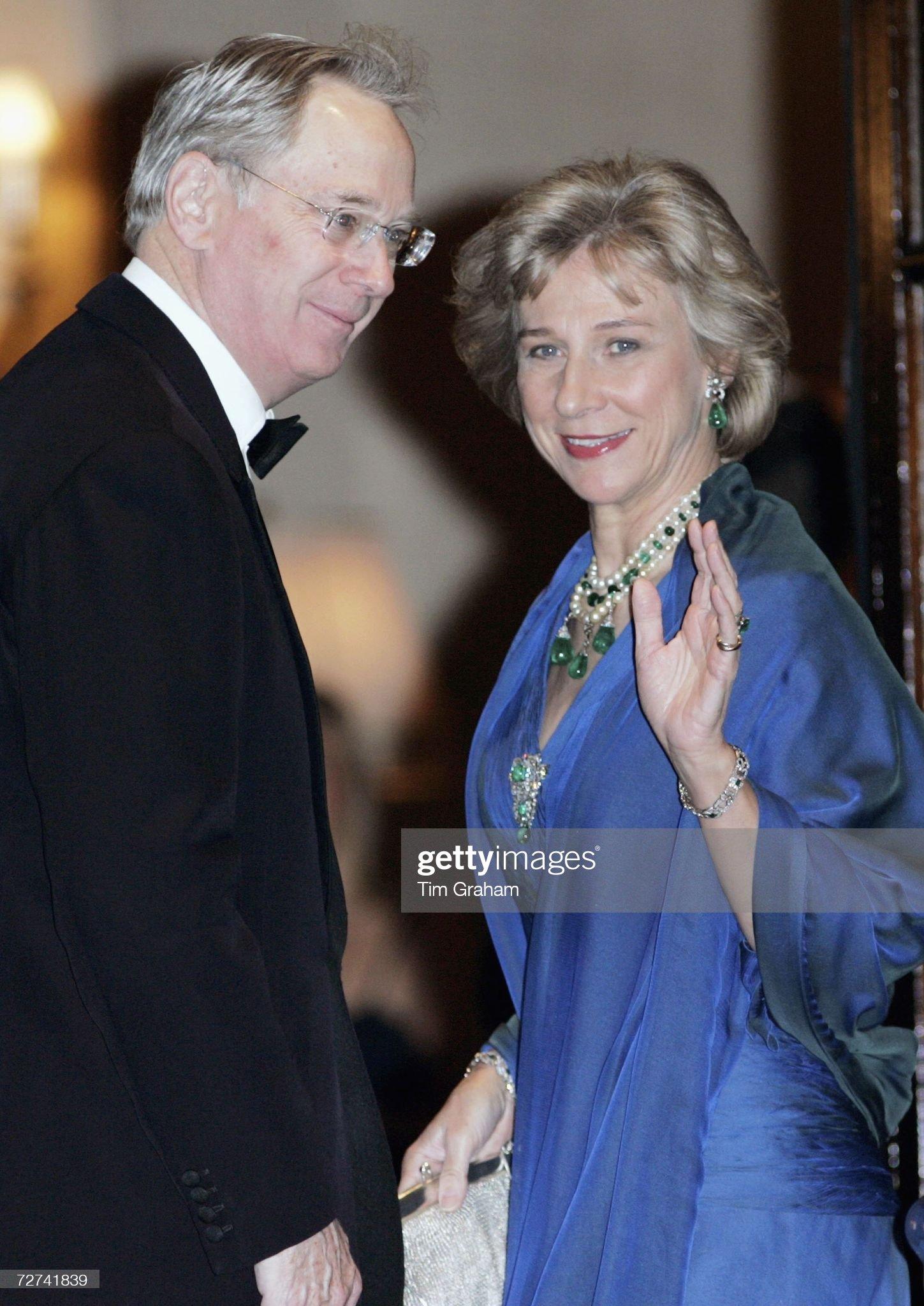 Duke & Duchess of Gloucester at Ritz Party : News Photo