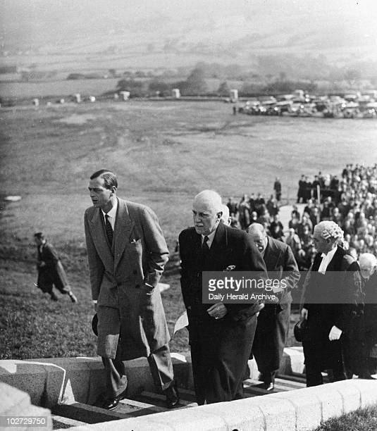 Duke of Kent 3 October 1935 Duke of Kent 3 October 1935 George Edward Alexander Edmund Duke of Kent son of King George V at the opening of...