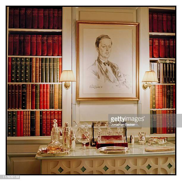Duke of Marlborough's Blenheim Palace A 1963 portrait of the 11th and current Duke as a young man by Alejo VidalQuadras is photographed for Vanity...