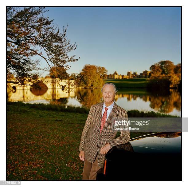 Duke of Marlborough's Blenheim Palace His Grace John George Vanderbilt Henry SpencerChurchill the Duke of Marlborough is photographed on this 2000...