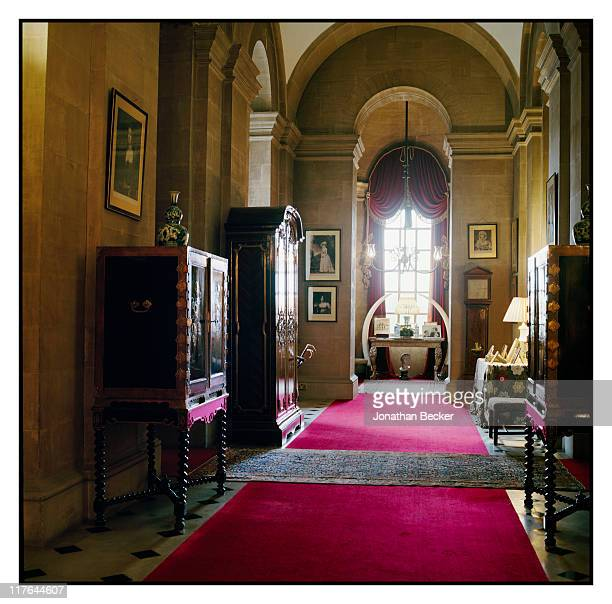 Duke of Marlborough's Blenheim Palace Interior of the palace is photographed for Vanity Fair Magazine on October 2527 2010 in Woodstock England