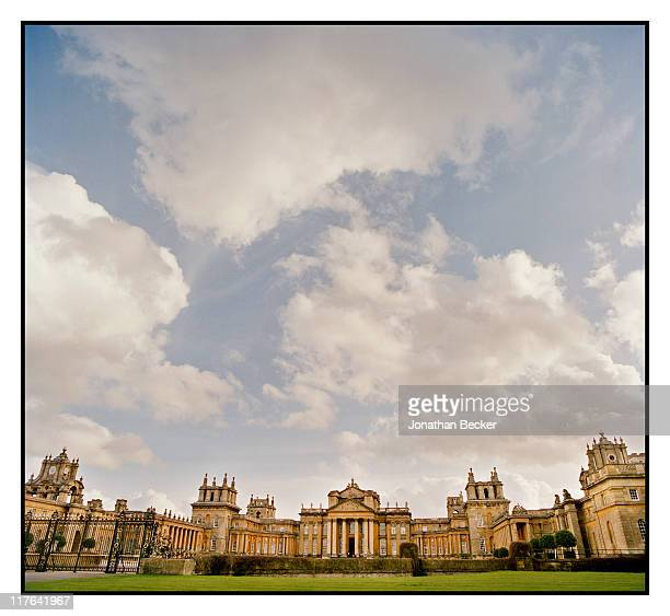 Duke of Marlborough's Blenheim Palace North front of the palace is photographed for Vanity Fair Magazine on October 2527 2010 in Woodstock England...