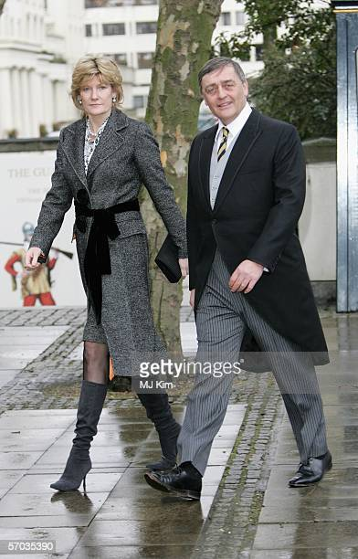 Duke of Westminster and guest attend the second memorial service for Lord Lichfield Royal photographer and cousin of The Queen who died November 11...