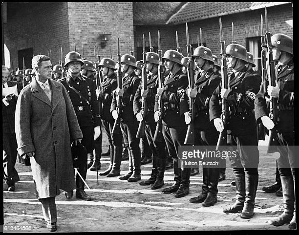 Duke Of Windsor Visit To Germany