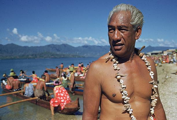 HI: 24th August 1890 - Surfer and Olympic Swimmer Duke Kahanamoku Is Born