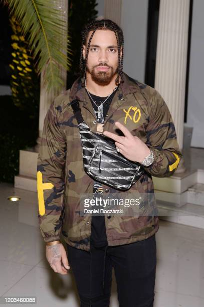 Duke Riley attends Lil Wayne's Funeral album release party on February 01 2020 in Miami Florida
