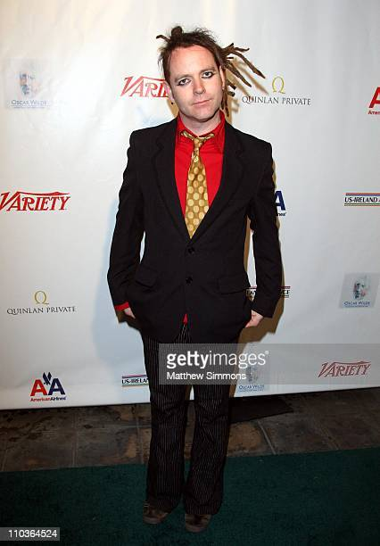 Duke Special arrives to the USIreland Alliance PreAcademy Awards at the Wilshire Ebell Theatre on February 21 2008 in Los Angeles California