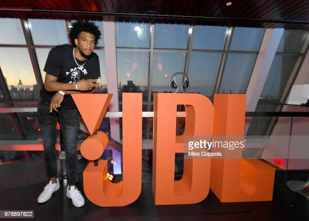 Duke standout and 2018 NBA Draft prospect Marvin Bagley III at the JBL x MB3 Draft Party, an exclusive event hosted by JBL and Complex. Attendees...