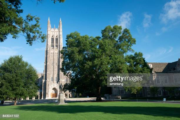 duke university chapel - duke stock pictures, royalty-free photos & images