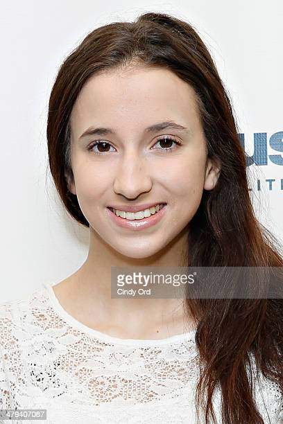 Duke University student/ adult film star Belle Knox visits the SiriusXM Studios on March 18 2014 in New York City