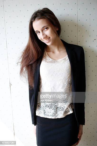 Duke University student/adult film star student Belle Knox poses for a photo on March 5 2014 in Los Angeles California