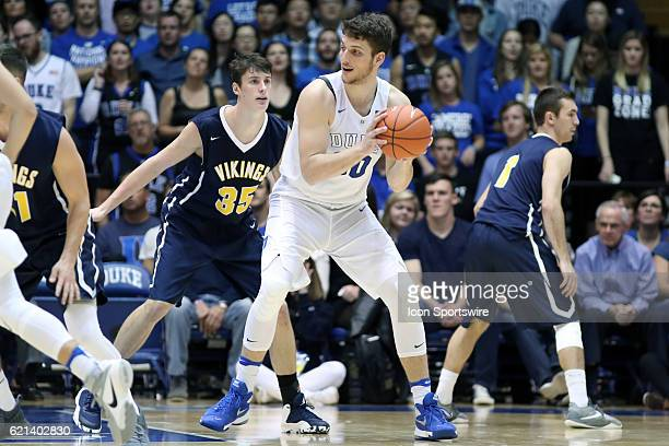 Duke's Antonio Vrankovic and Augustana's Lucas Walford The Duke University Blue Devils hosted the Augustana University Vikings on November 4 at...