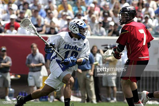 Duke's Matt Zash had 3 goals as the Duke Blue Devils defeated the Maryland Terrapins 18 to 9 in the NCAA Mens Lacrosse Semi Finals at Lincoln...