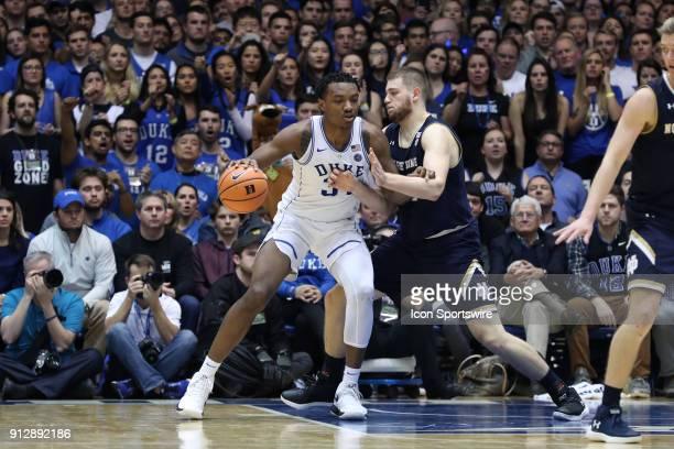 Duke's Wendall Carter Jr and Notre Dame's Martinas Geben The Duke University Blue Devils hosted the University of Notre Dame Fighting Irish on...
