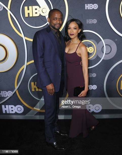 Dulé Hill and wife Jazmyn Simon arrive for the HBO's Post Emmy Awards Reception held at The Plaza at the Pacific Design Center on September 22, 2019...