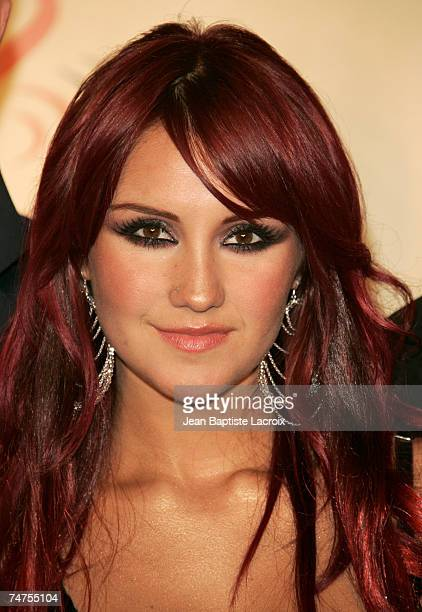 Dulce Maria of 'Rebelde RBD' at the American Airlines Arena in Miami