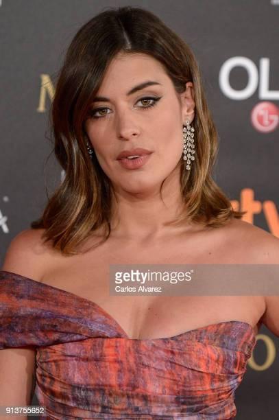 Dulceida attends Goya Cinema Awards 2018 at Madrid Marriott Auditorium on February 3 2018 in Madrid Spain