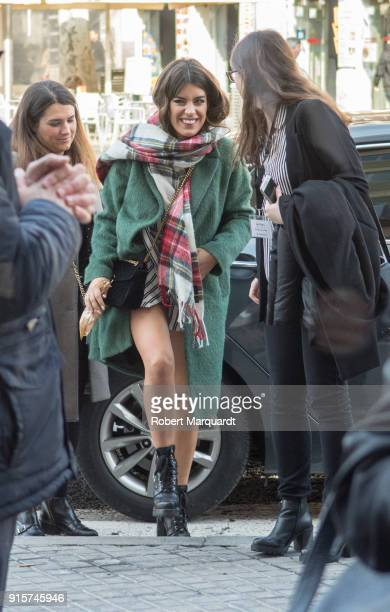 Dulceida attends the 'Lefties' store opening on February 8 2018 in Barcelona Spain