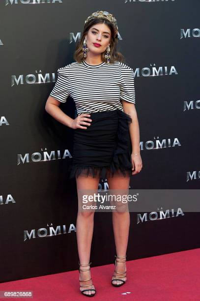 Dulceida attends 'The Mummy' premiere at the Callao cinema on May 29 2017 in Madrid Spain