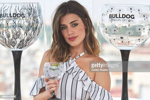 Dulceida presents 'Bulldog London Dry Gin' new glasses at the ME Hotel on June 21 2017 in Madrid Spain