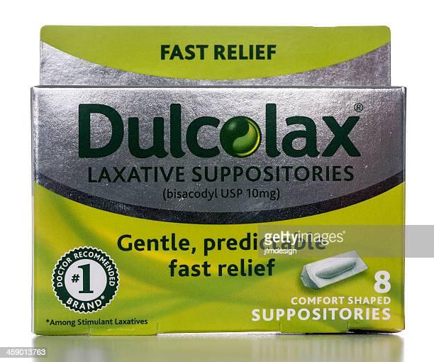 dulcolax lassativo supposta - supposta foto e immagini stock