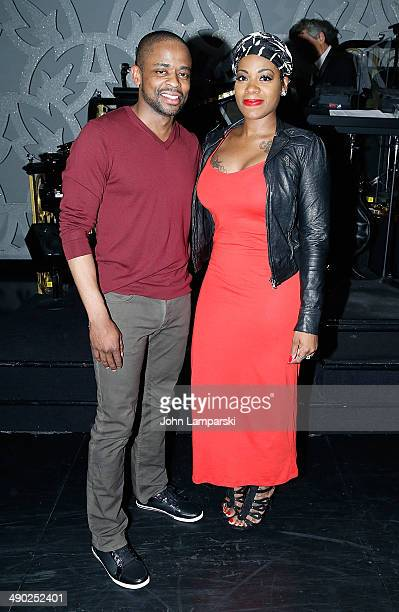 Dule Hill and Fantasia Barrino attend Fantasia's return to 'After Midnight' at The Brooks Atkinson Theatre on May 13 2014 in New York City