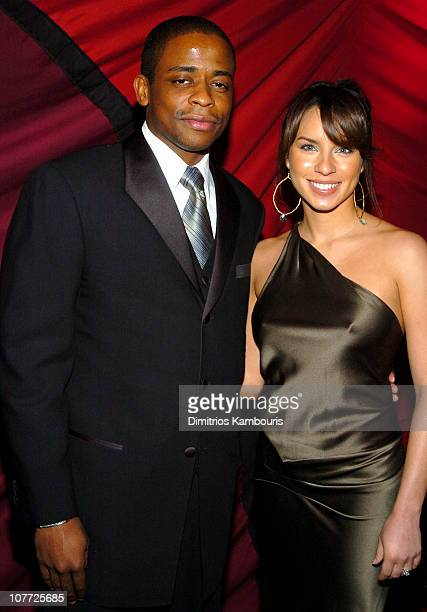 Dule Hill and Nicole Lyn during 10th Annual Screen Actors Guild Awards Red Carpet at Shrine Auditorium in Los Angeles California United States