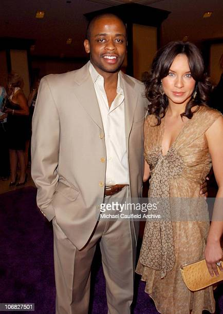 Dule Hill and Nicole Lyn during 12th Annual Race to Erase MS CoChaired by Tommy Hilfiger and Nancy Davis Red Carpet at The Westin Century Plaza Hotel...