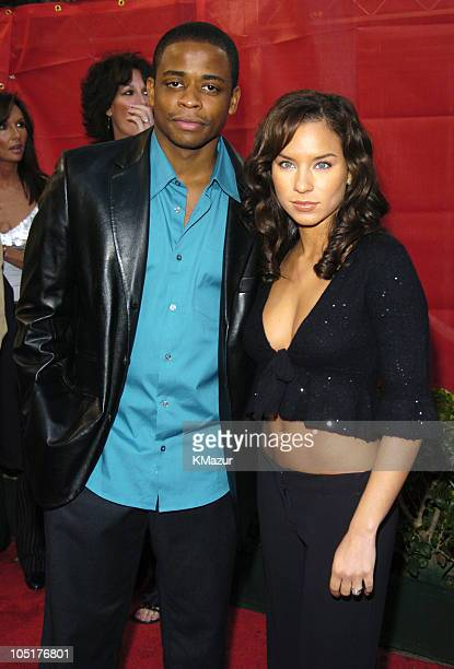 Dule Hill and Nicole Lyn during 31st Annual American Music Awards Arrivals at Shrine Auditorium in Los Angeles California United States
