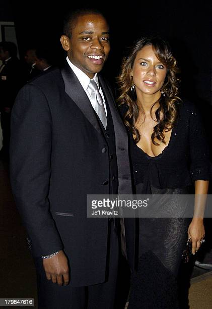Dule Hill and Nicole Lyn during The 56th Annual Primetime Emmy Awards Governors Ball at The Shrine Auditorium in Los Angeles California United States