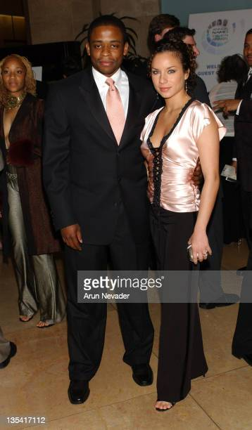 Dule Hill and Nicole Lyn during The 9th Annual NAMIC Vision Awards at Beverly Hilton Hotel in Beverly Hills California United States