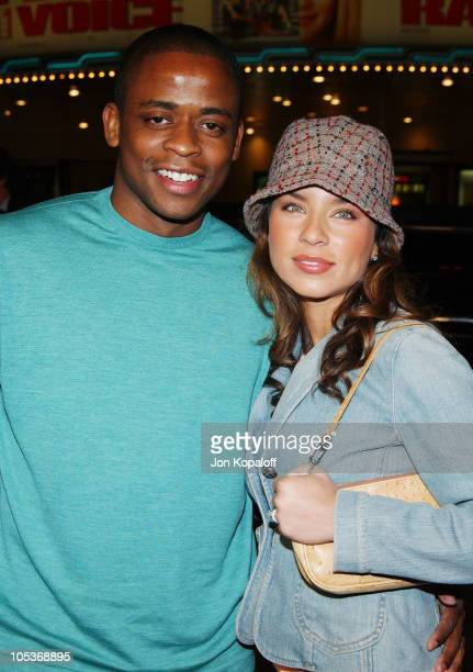 Dule Hill and wife Nicole Lyn during The Grudge Los Angeles Premiere Arrivals at Mann Village Theater in Westwood California United States