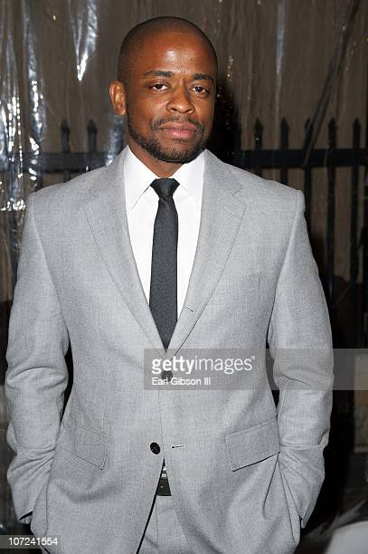 Dule Hill attends the 10th Annual Heroes In The Struggle Gala Concert on December 1 2010 in Hollywood California