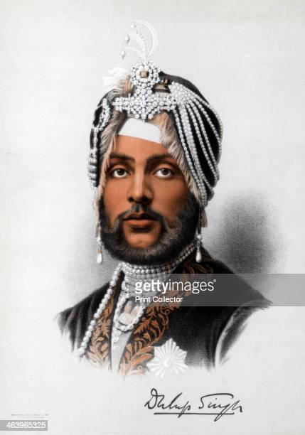 Duleep Singh Sikh ruler c1890 The son of the Maharaja Ranjit Singh Duleep Singh was the Maharaja of Lahore and King of the Sikh Empire He was deposed...