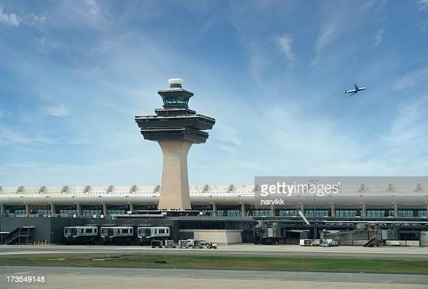 Der Internationale Flughafen Dulles in Washington, DC, USA