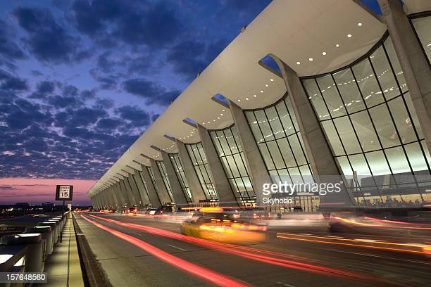 dulles sunrise - curb stock pictures, royalty-free photos & images