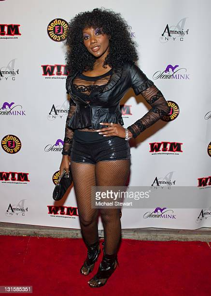 Dult Actress Nyomi Banxxx Attends An Adult Industry Red Carpet Media Affair At Amnesia Nyc On