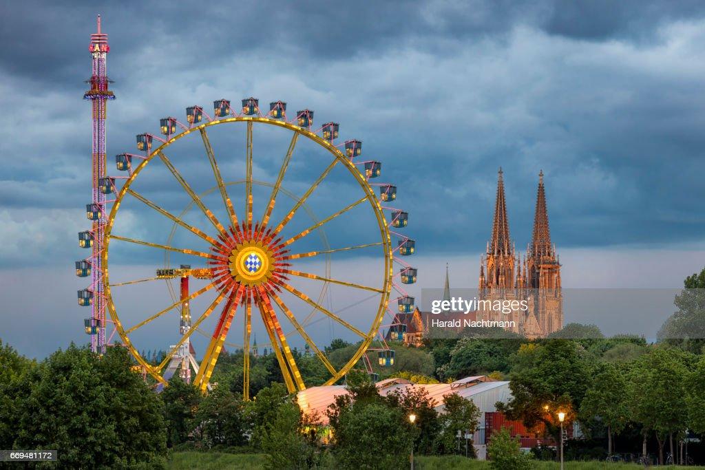 Dult in Regensburg : Stock Photo
