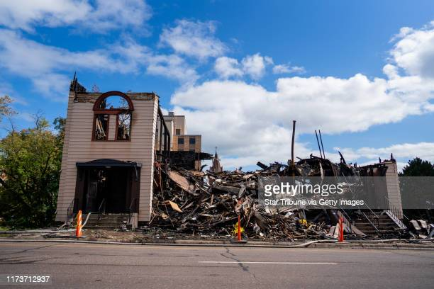 Little remained of Duluth's Adas Israel Congregation after it was gutted by fire early Monday morning